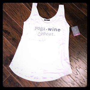 Yoga wine repeat tank